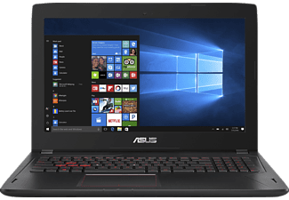 ASUS FX502VM-DM119T, Gaming-Notebook mit 15.6 Zoll Display, Core™ i7 Prozessor, 16 GB RAM, 1000 GB HDD, 256 GB SSD, GeForce GTX 1060, Schwarz