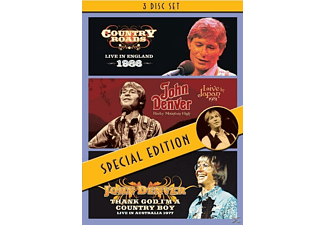 John Denver - Country Roads-Live/Rocky Mountain High-Live/+ - (DVD)