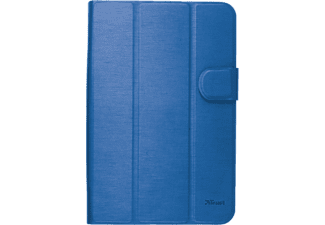 TRUST AEXXO Universal Folio Case For 7-8'' Tablets Blue - (21203)