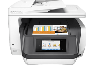 HP OfficeJet Pro 8730, 4-in-1 Multifunktionsdrucker, Weiß