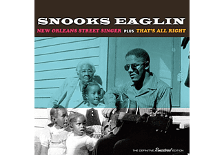 Snooks Eaglin - New Orleans Street Singer/That's All Right (CD)