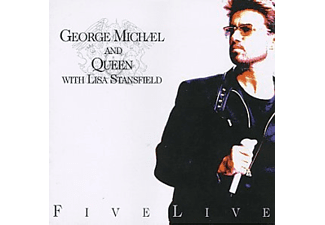 George Michael and Queen with Lisa Stansfield - Five Live (CD)