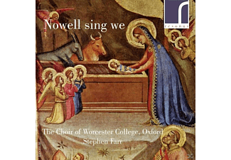 Choir Of Worcester College Oxford - Nowell sing we - (CD)