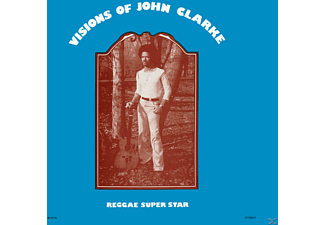 Johnny Clarke - Visions Of - (Vinyl)