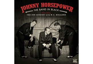 Johnny Horsepower - The Band In Black - (CD)