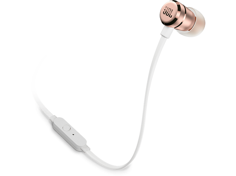 JBL T290 Rose Gold τηλεόραση   ψυχαγωγία ακουστικά ακουστικά in ear