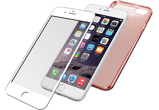 PANZERGLASS Apple iPhone 6 / 6s Backcover Edgegrip Wit met roségoud