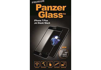 PANZERGLASS Premium iPhone 7 Plus / 8 Plus Zwart