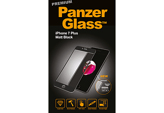PANZERGLASS Premium iPhone 7 Plus Mat Zwart