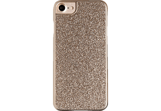SPADA Glitter, Apple, Backcover, iPhone 7/iPhone 8, Kunststoff, Gold