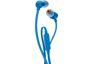 JBL T110 IN EAR BLAUW