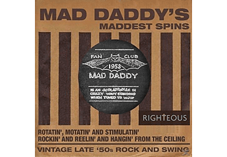 VARIOUS - Mad Daddy's Maddest Spins - (CD)