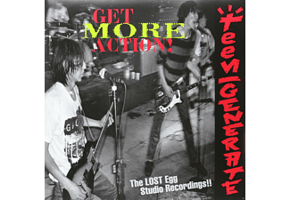 Teengenerate - Get More Action!! - (Vinyl)
