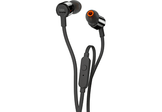 JBL T210 IN EAR ZWART