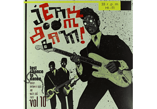 Jerk Boom Bam - Vol.10-Greasy Rhythm & Soul Party - (Vinyl)