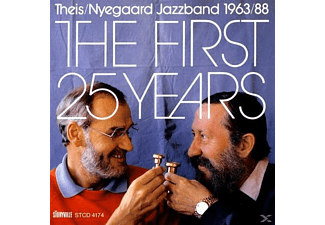 Nyegaard Jazzband, Theis - First 25 Years - (CD)