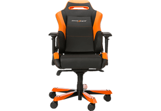 DXRACER Iron, Gamingstuhl, Schwarz /Orange