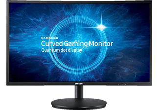SAMSUNG C27FG70FQU Curved, Monitor mit 68.58 cm / 27 Zoll Full-HD Display, 1 ms Reaktionszeit, Anschlüsse: 2x HDMI, 1x Display Port, 1x Audioausgang