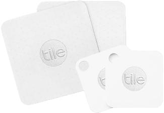 TILE  Slim & Mate 4er Pack, Bluetooth-Tracker, -, -, Weiß