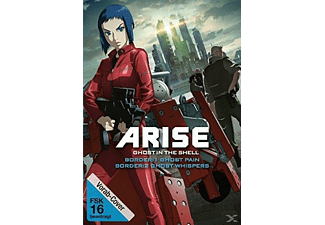 Ghost in the Shell Arise: Border 1 - Ghost Pain & Ghost in the Shell Arise: Border 2 - Ghost Whisper - (DVD)