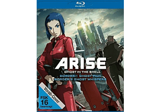 Ghost in the Shell Arise: Border 1 - Ghost Pain & Ghost in the Shell Arise: Border 2 - Ghost Whisper - (Blu-ray)