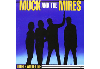 Muck & The Mires - double white line - (Vinyl)