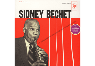Sidney Bechet - The Grand Master Of The Soprano Saxophone - (Vinyl)