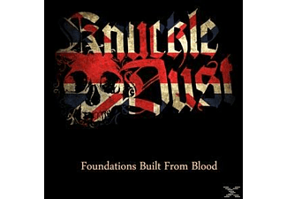 Knuckledust - foundations built from blood (black) - (Vinyl)