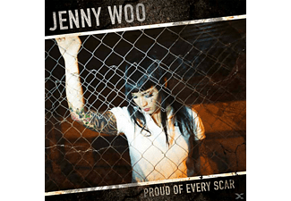 Jenny Woo - Proud of Every Scar - (Vinyl)