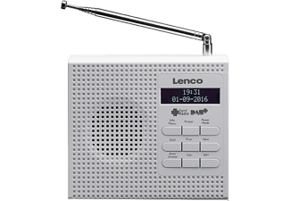 LENCO PDR-020 wit