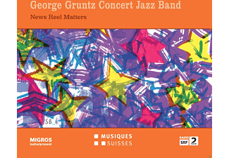 The George Gruntz Concert Jazz Band - News Reel Matters - (CD)