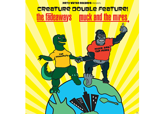 The Fadeaways Vs Muck And The Mires - Creature double feature! - (Vinyl)
