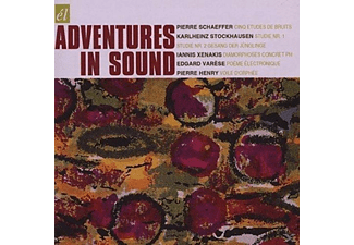 Karlheinz Stockhausen - Adventures In Sound - (CD)