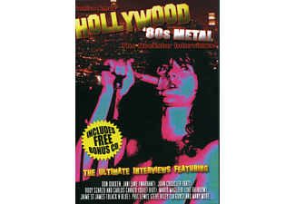 VARIOUS - 80s Metal Rockstar Interviews - (CD + Buch)
