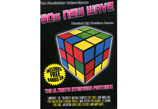 VARIOUS - 80s New Wave Rockstar Interviews - (CD + Buch)