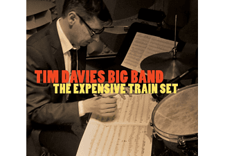 Tim Davies Big Band - The Expensive Train Set - (CD)