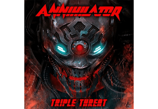 Annihilator - Triple Threat - (CD + DVD Video)