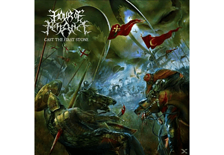 Hour Of Penance - Cast The First Stone (Black/Red) - (Vinyl)