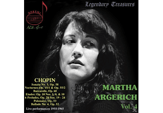 Martha Argerich - Legendary Treasures-Martha Argerich Vol.4 - (CD)
