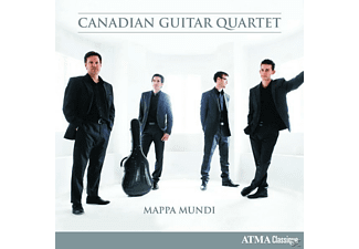Canadian Guitar Quartet - Mappa Mundi - (CD)