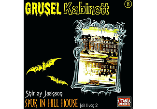 Gruselkabinett 8: Spuk in Hill House (Teil 1 von 2) - 1 CD - Horror
