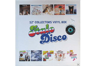 "VARIOUS - 12"" Collector s Vinyl Box: Italo Disco - (Vinyl)"