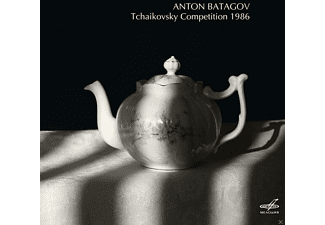 Anton Batagov - Tchaikovsky Competition 1986 - (CD)