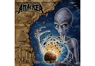 Attacker - SINS OF THE WORLD - (CD)