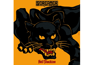 Screamer - Hell Machine (Translucent Blue Vinyl/Gtf.) - (Vinyl)