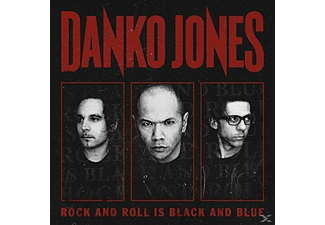 Danko Jones - Rock And Roll Is Black And Blue (Blue Version) - (Vinyl)