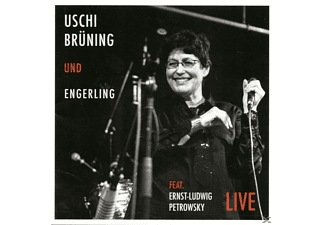Uschi Brüning+engerling - Live - (CD)