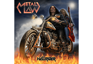 Metal Law - Hellrider - (CD)