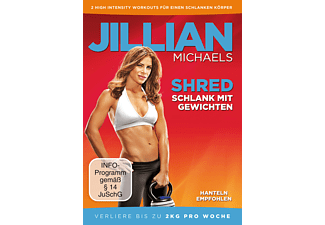 Jillian Michaels - Shred - Schlank mit Gewichten - (DVD)