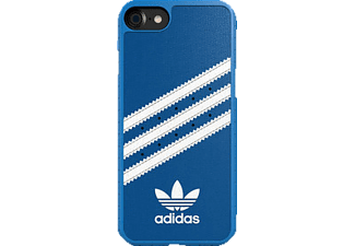 ADIDAS 038201, Apple, Backcover, iPhone 7, Polycarbonat, Blau/Weiß